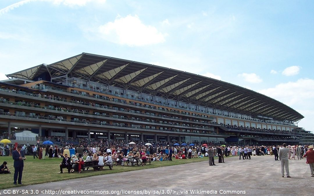 Ascot Racecourse whic appears in A View To A Kill and Skyfall