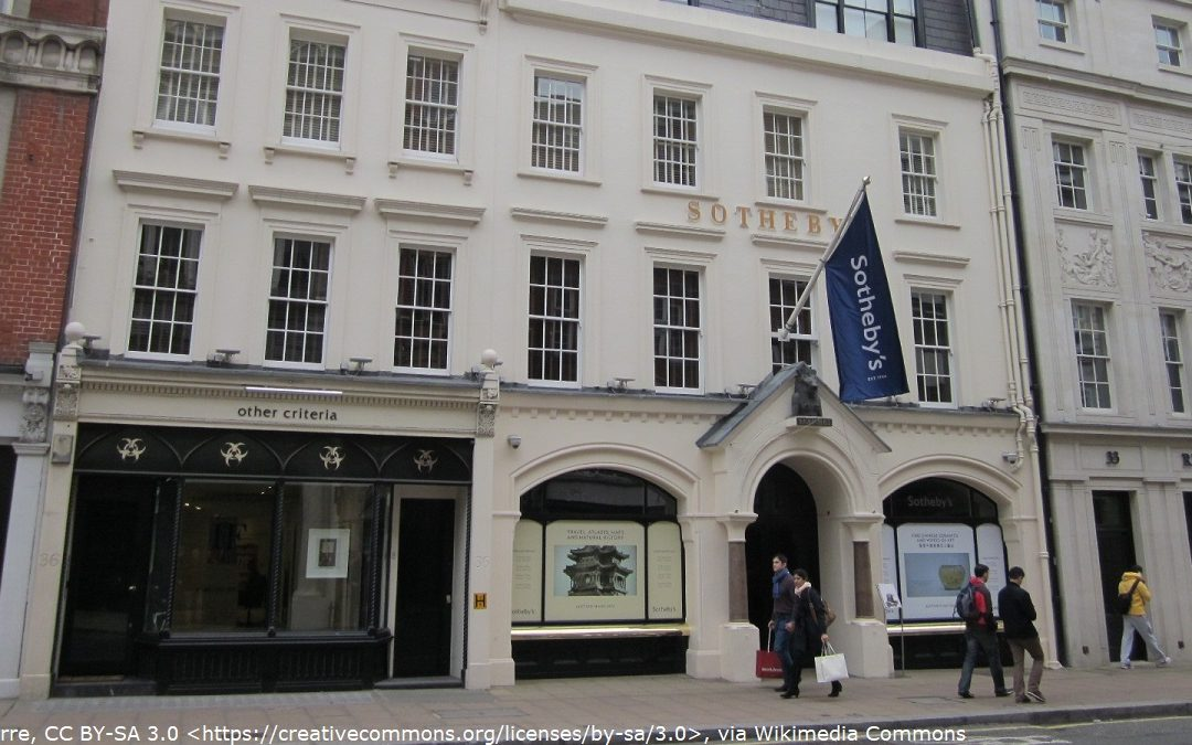 Sotheby's which appears in Octopussy
