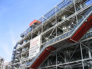 Pompidou Centre in Paris was Drax's laboratory in Moonraker