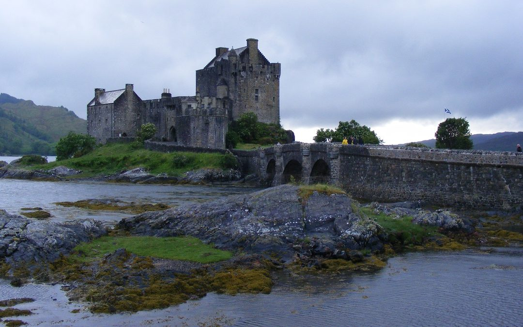 Eilean Donan castle, which appears as the MI6 Scotland headquarters in The World is Not Enough
