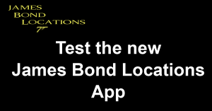 James Bond Locations Test The App