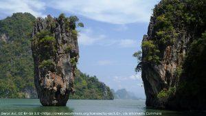 Khao Ta Pu (Mushroom-shaped Rock), Thailand in The Man