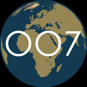 James Bond Locations Icon